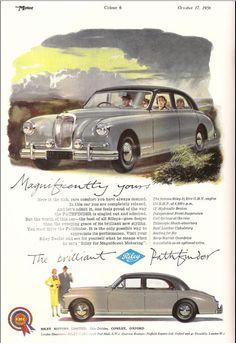 1956 Riley Pathfinder Car Advert