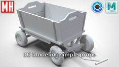 Modeling simple 3D Props in Maya ( ** ) Animation Tutorial, 3d Animation, 3d Modeling, Game Design, Toy Chest, Maya, Baby Strollers, Tutorials, Storage
