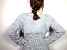 How to Loom Knit a Sweater / Pullover / Jersey (DIY Tutorial) - YouTube