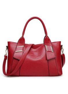 Bolsos PU Moda Bolso Tote Grande (1019184) @ floryday.com