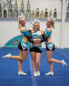 Watch Cheer Squad on Freeform or Netflix. Cheer Abs, Cheer Stunts, Cheer Dance, Cheer Outfits, Cheerleading Outfits, Cheerleader Costume, Cheer Team Pictures, Squad Pictures, Cheer Couples