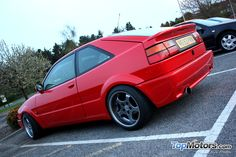 Lovely red VW Corrado VR6 at the Dubs Not Clubs meet yesterday.