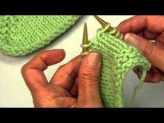 Decreases in Knitting- SSK vs. K2tog - YouTube