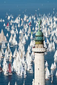 La Barcolana, Trieste, Italy - Now where is my boat? Places Around The World, Oh The Places You'll Go, Places To Travel, Places To Visit, Around The Worlds, Trieste, Wonderful Places, Beautiful Places, Foto Poster