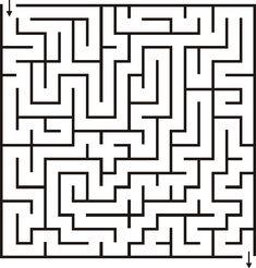 18x18 Maze for Kids