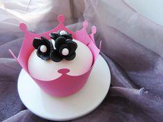 Elegant Princess Black  White Cupcake. - Candy Bar by Tereza  Tereza, Oslo.