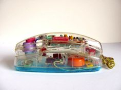 To know more about Transparent vintage telephone, visit Sumally, a social network that gathers together all the wanted things in the world! Vintage Telephone, Vintage Toys, Retro Vintage, Vintage Phones, The Baby Sitters Club, Cool Inventions, Retro Aesthetic, Good Ol, Shopping