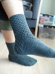 My Marlinspike socks, designed for MacKintosh Yarns sock club