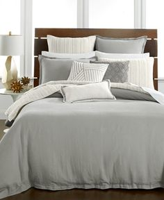 Bedding Sets Online, Luxury Bedding Sets, Beige Duvet Covers, Hotel Collection Bedding, Luxury Bedding Collections, Gray Bedroom, Master Bedroom, Master Suite, King Duvet