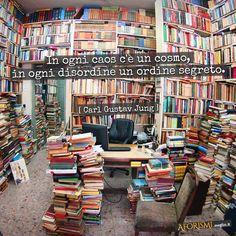 Carl Gustav Jung • In ogni caos c'è un cosmo, in ogni disordine un ordine segreto.