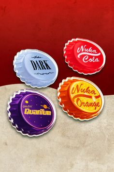 Fallout Bottle Caps, Fallout Logo, Nuka Cola Quantum, Bottle Cap Magnets, Home Office Accessories, Tool Box, Store, Toolbox, Larger