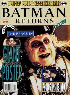 BATMAN RETURNS Poster Magazine Issue #2 1992
