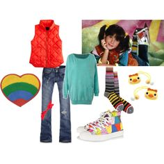 """I think I may put my own more """"grown-up"""" twist on this for Halloween this year...Punky Brewster Halloween Costume"""