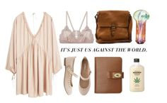 """""""Camels #245"""" by blasphem-y ❤ liked on Polyvore featuring MANGO, INDIE HAIR, Boomerang, Mulberry and Vanessa Bruno"""