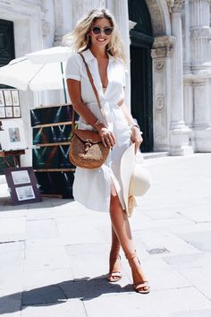 3 weeks in italy- part 1 italian street fashion, italian summer fashion, rome Cute Summer Outfits, Casual Outfits, Summer Dresses, Comfortable Outfits, Simple Outfits, Dress Outfits, Look Fashion, Womens Fashion, Fashion Trends