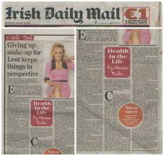 Irish Daily Mail, August 2013