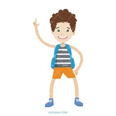 kid student character vector illustration #kid #character #cartoon #kidaha #characterdesign #planner #student #education #vector Kid Character, Character Design, Student Cartoon, Happy Boy, Boy Or Girl, Disney Characters, Fictional Characters, Things To Come, Clip Art