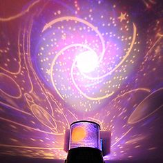 DIY Romantic Galaxy Starry Sky Projector Night Light for Celebrate Christmas Party - USD $ 2.99