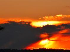 Sunset yesterday. #IslandStyle