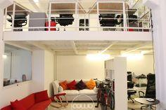 Spazio di coworking a Milano Lambrate negli uffici dell'agenzia di comunicazione Monkey Business, sede della Rete Cowo® http://www.coworkingproject.com/
