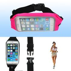 "6"" Waterproof Mobile Phone Fanny Pack #floattrip #waterproofphoneholder #kayak #outdooractivities"