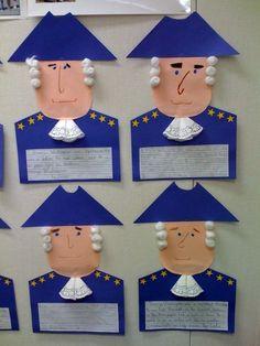 George Washington (Valentins Day Kindergarten Science)