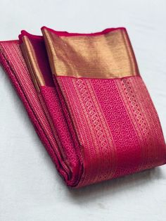 Fancy Sarees Party Wear, Pure Silk Sarees, Saree Dress, Saris, Jewelery, Pure Products, Cotton, Gold, How To Wear