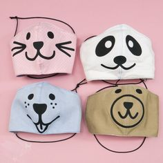 Not only are these Animal Face Masks super cute but they also help kids transition to wearing masks when out in public. making for kids Animal Face Mask, Cat Face Mask, Animal Masks, Face Masks For Kids, Easy Face Masks, Homemade Face Masks, Super Cute Animals, Animals For Kids, Help Kids