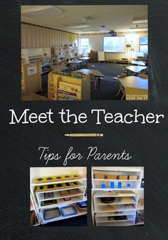 Meet the Teacher Tips for Parents of Elementary School Students