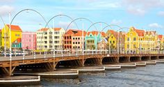 Hilton Curacao Hotel, Na - Willemstad Floating Bridge  floating market!