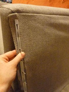 d i y d e s i g n: How to Re-Upholster a Sofa