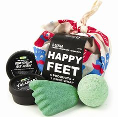 Limited edition Happy Feet gift: Treat your feet!