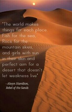 Rebel of the Sands Quote, Alwyn Hamilton