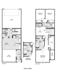 Zoe Home Plan by CB JENI Homes in Stacy Crossing