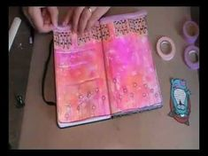 As always I love watching her create...she is wonderfully inspiring. When in doubt... art journaling