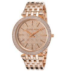 9ba5cee332c MICHAEL KORS DARCI MK3399 Nana Gifts, Gold Watch, Michael Kors Watch,  Chronograph,