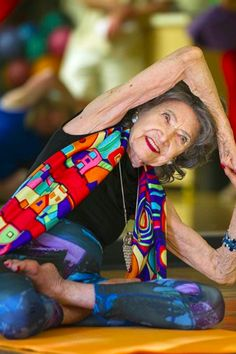 This 97 years old instructor's yoga history is proof that you are never too old to do and share the activities you love.