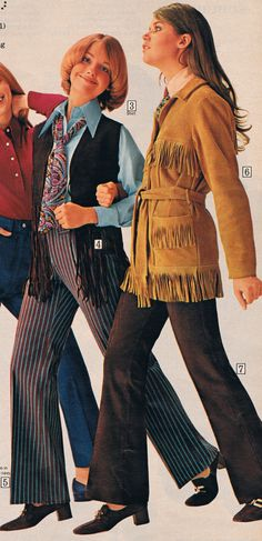 Sears catalog 70s. Cay Sanderson and Colleen Corby.