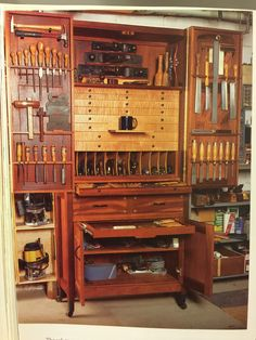 Nice old tool cabinet