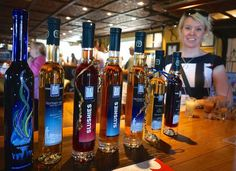 Wineries Niagara Icewine Specialist is The Ice House. This family owned winery shares Icewine insights during their unique Gold Medal Winning Icewine. Ice Houses, Slushies, Vodka Bottle, Wineries, Bottles, Author, Wine Cellars, Writers