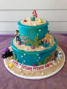 Little mermaid cake !