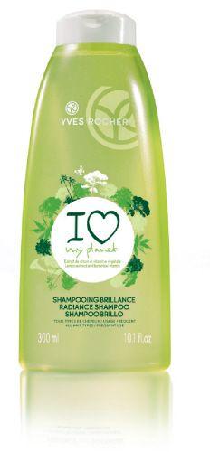 Yves Rocher's Radiance Shampoo - with Lemon extract for more shine! #plantfortheplanet #yvesrocher
