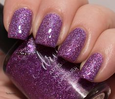 Lacky Corner: Dreamland Lacquer - Violet, You're Turning Violent!