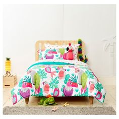 Parakeet Paradise Comforter Set from Pillowfort.