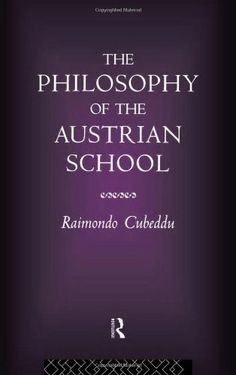 The Philosophy of the Austrian School by Raimondo Cubeddu https://www.amazon.com/dp/0415086477/ref=cm_sw_r_pi_dp_x_dpd2xb2T7ASVW