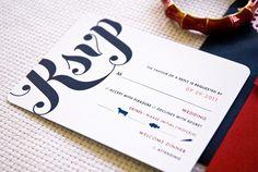 Nam  Al's custom wedding invitations