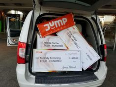The best kind of luggage! #Cheques #Momentum #JumpNatural #Health #Fitness