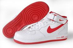 info for 9f305 8ff3f Find Vrouwen Nike Schoenen Wit Rood Opruiming Air Force 1 High TopDeals  online or in Jordanschoenen. Shop Top Brands and the latest styles Vrouwen  Nike ...