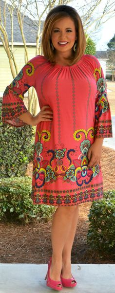 Perfectly Priscilla Boutique - Gypsy Rose Dress, $46.00 (http://www.perfectlypriscilla.com/gypsy-rose-dress/)