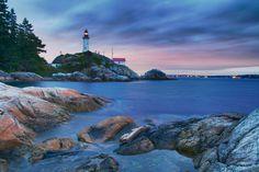 Point Atkinson Lighthouse by Anthony Maw, via 500px